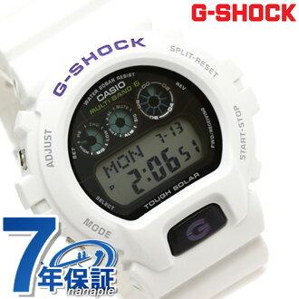 GW-6900A-7ER CASIO G-SHOCK G-打擊電波太陽能6900白