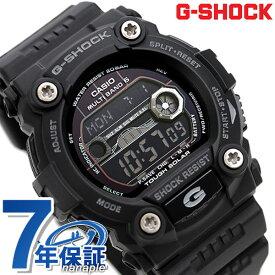 【今なら店内ポイント最大44倍】 G-SHOCK 電波 ソーラー CASIO GW-7900B-1 腕時計 カシオ Gショック タイドグラフ・ムーンデータ搭載 フルブラック 時計【あす楽対応】