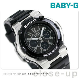 a5b430f06cf7da Baby-G レディース カシオ 腕時計 ベビーG アナデジ 海外モデル ブラック BGA-110-