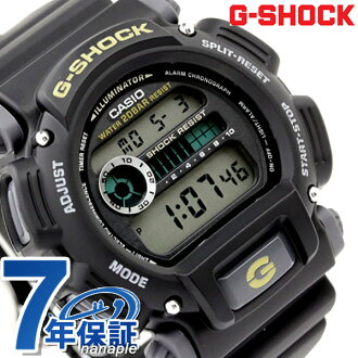 6600 G-shock CASIO watch Japan unreleased model black x yellow DW-9052-1B