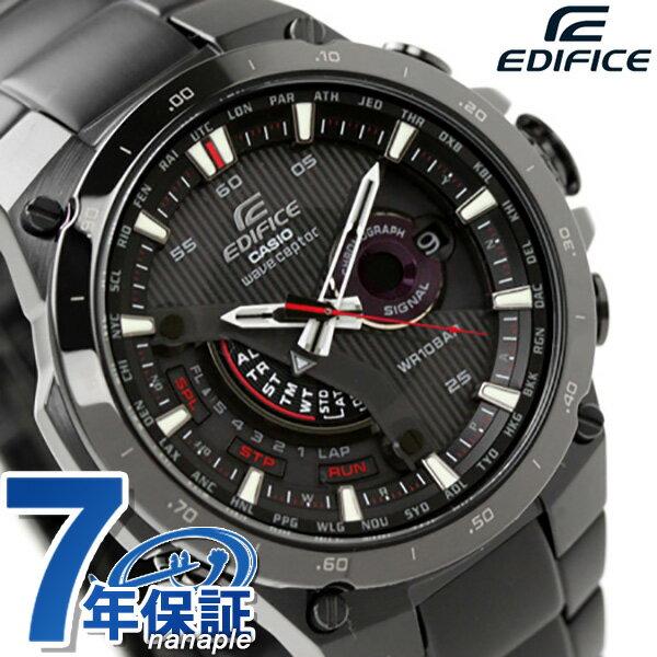 カシオ CASIO EDIFICE エディフィス ソーラー 電波 オールブラック EQW-A1000DC-1AER 腕時計 時計【あす楽対応】