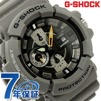 GAC-100-8ADR G-Shock Watches chronograph mens black x grey CASIO g-shock P19Jul15