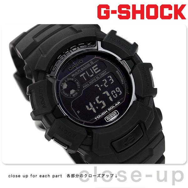 G-SHOCK 電波 ソーラー CASIO GW-2310FB-1CR 腕時計 カシオ Gショック オールブラック 時計