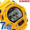 GW-7900CD-9ER CASIO G-SHOCK G-打击电波太阳能复古彩色黄色