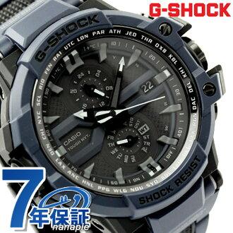 GW-A1000FC-2ADR G打击天驾驶室电波太阳能手表人黑色×深蓝CASIO G-SHOCK