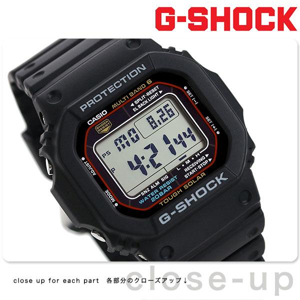 G-SHOCK CASIO 電波 ソーラー GW-M5610-1ER 5600シリーズ 腕時計 カシオ Gショック アウトドア 時計【あす楽対応】