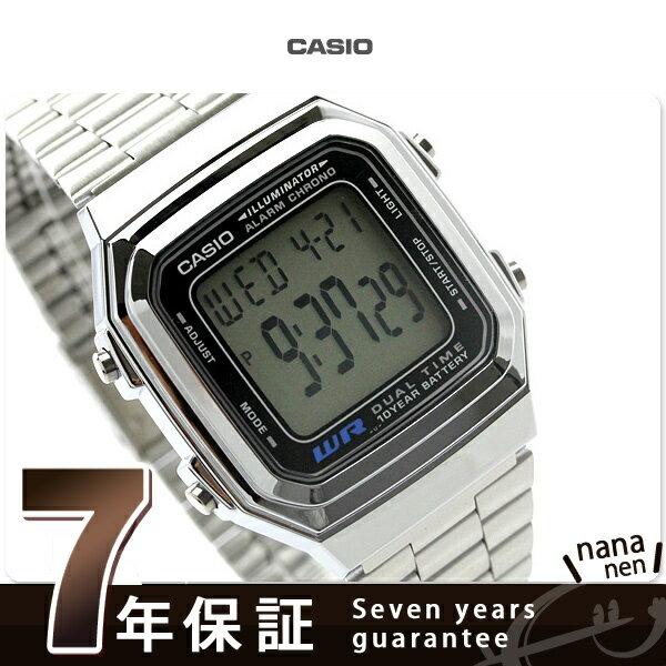 カシオ 腕時計 チープカシオ デジタル メンズ 海外モデル CASIO STANDARD DIGITAL A178WA-1ACR チプカシ
