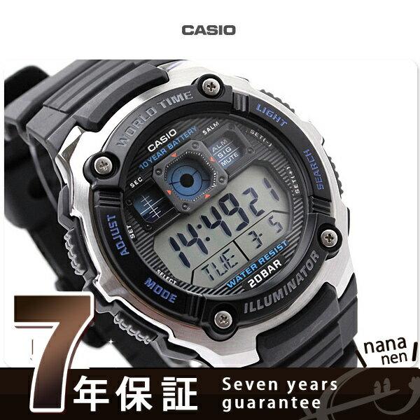カシオ 腕時計 チープカシオ スポーツ ギア メンズ 海外モデル ブラック SPORTS GEAR CASIO AE-2000W-1AVCF チプカシ 時計【あす楽対応】