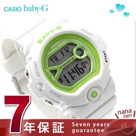 d31f789250cbd2 Baby-G 白 レディース カシオ babyg ランニングウォッチ 腕時計 ライムグリーン × ホワイト ベビーG
