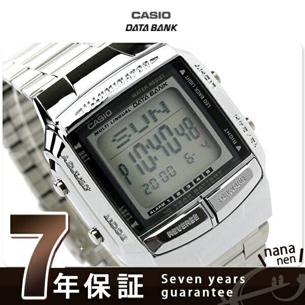 【エントリーでさらにポイント+4倍!21日20時〜26日1時59分まで】 カシオ 腕時計 チープカシオ データバンク メンズ 海外モデル CASIO DATA BANK DB-360-1A チプカシ 時計
