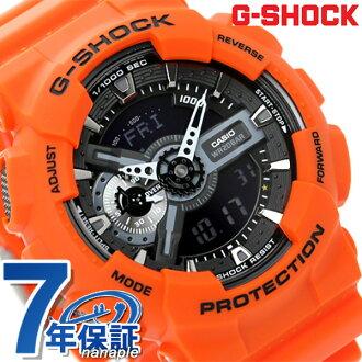 GA-110MR-4ADR g-shock Rescue Orange series mens watch Casio G-shock Quartz Black × Orange