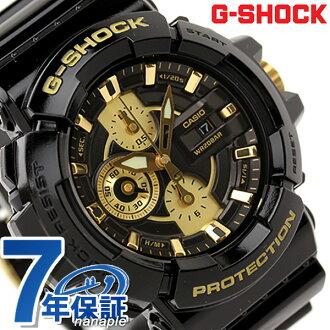 GAC-100BR-1ADR G打擊手錶menzugarisshugorudoshirizugorudo×黑色CASIO G-SHOCK