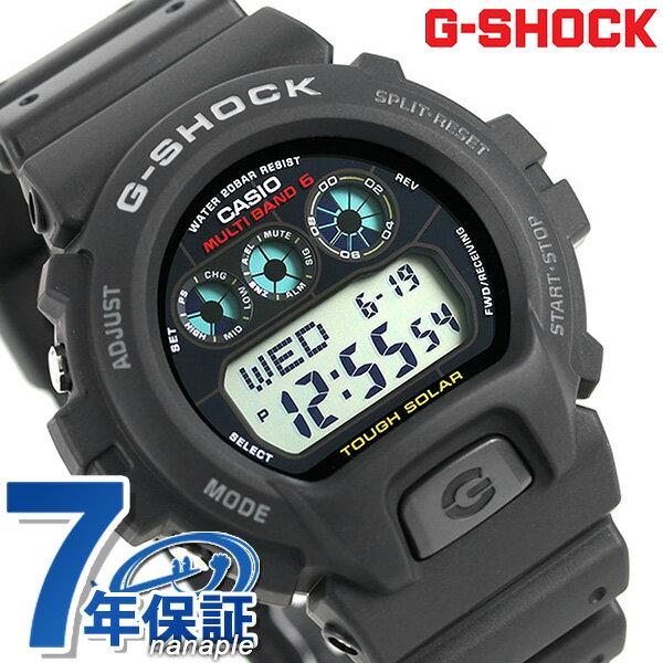 G-SHOCK 電波 ソーラー CASIO GW-6900-1CR 6900 腕時計 カシオ Gショック ブラック 時計