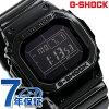 GW-M5610BB-1ER G-SHOCK gurosshi·黑色系列电波太阳能卡西欧G打击手表全部黑色