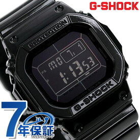 【今なら店内ポイント最大44倍】 G-SHOCK ブラック 電波 ソーラー CASIO GW-M5610BB-1ER 腕時計 カシオ Gショック グロッシー・ブラックシリーズ オールブラック 時計【あす楽対応】