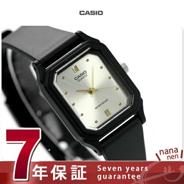 カシオ チプカシ 腕時計 レディース スタンダード 海外モデル シルバー×ブラック CASIO LQ-142E-7ADF 時計