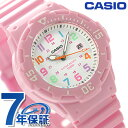 カシオ チプカシ 海外モデル デイト クラシック レディース LRW-200H-4B2VDF CASIO 腕時計 クオーツ ホワイト×ピンク…