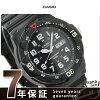 kashiochipukashi手錶日日期古典的海外型號全部黑色CASIO MRW-200H-1BVDF鐘表