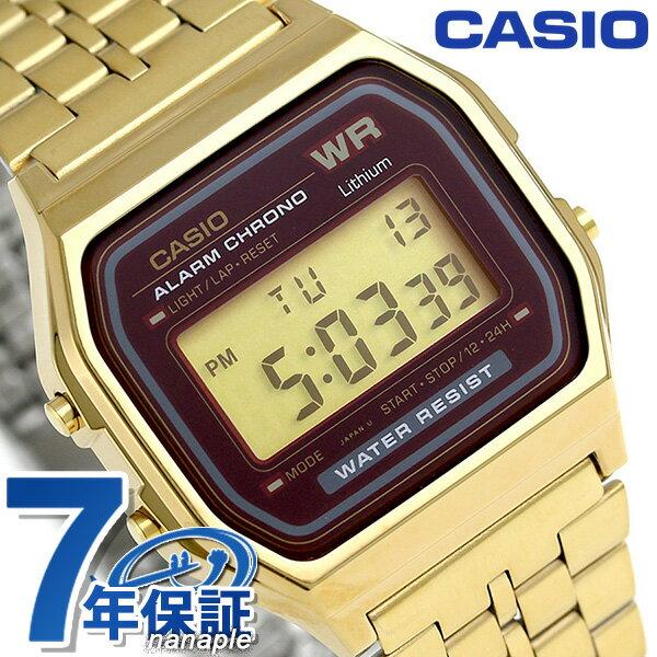 カシオ 腕時計 チープカシオ メンズ A159WGEA-5DF CASIO ゴールド チプカシ