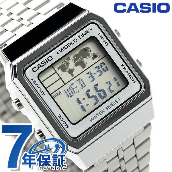 カシオ 腕時計 チープカシオ 海外モデル デジタル A500WA-7DF CASIO シルバー チプカシ
