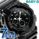 Baby-G クオーツ レディース 腕時計 BA-125-1ADR カシオ ベビーG オールブラック