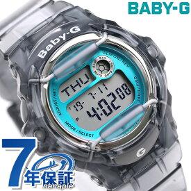 Baby-G レディース BG-169シリーズ クオーツ 腕時計 BG-169R-8BDR カシオ ベビーG クリアブルー 時計【あす楽対応】