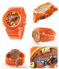 Baby-g Beach-traveler series ladies watch BGA-190-4BDR Casio baby G quartz Orange