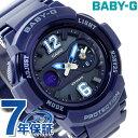 Baby-G クオーツ レディース 腕時計 BGA-210-2B2DR カシオ ベビーG ネイビー