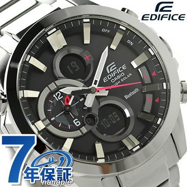 カシオ モバイルリンク Bluetooth スマートフォン ECB-500D-1AER CASIO エディフィス 腕時計 時計【あす楽対応】