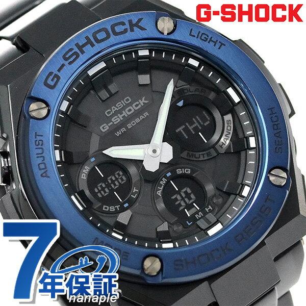 G-SHOCK ソーラー CASIO GST-S110BD-1A2DR Gスチール メンズ 腕時計 カシオ Gショック ブラック 時計