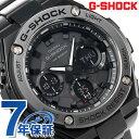 G-SHOCK ソーラー CASIO GST-S110BD-1BDR Gスチール メンズ 腕時計 カシオ Gショック オールブラック