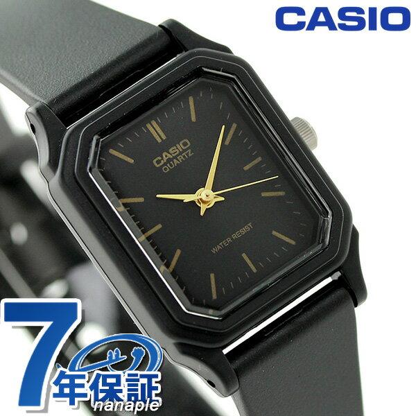 カシオ 腕時計 チープカシオ 海外モデル レディース LQ-142-1EDF CASIO ブラック チプカシ 時計