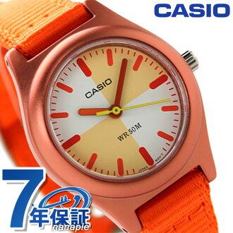 カシオチプカシクラシッククオーツキッズ watch LTR-16B-4E2VDF CASIO orange