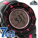 カシオ プロトレック ソーラー メンズ 腕時計 PRG-300-1A4DR CASIO PRO TREK ブラック×ピンク【あす楽対応】