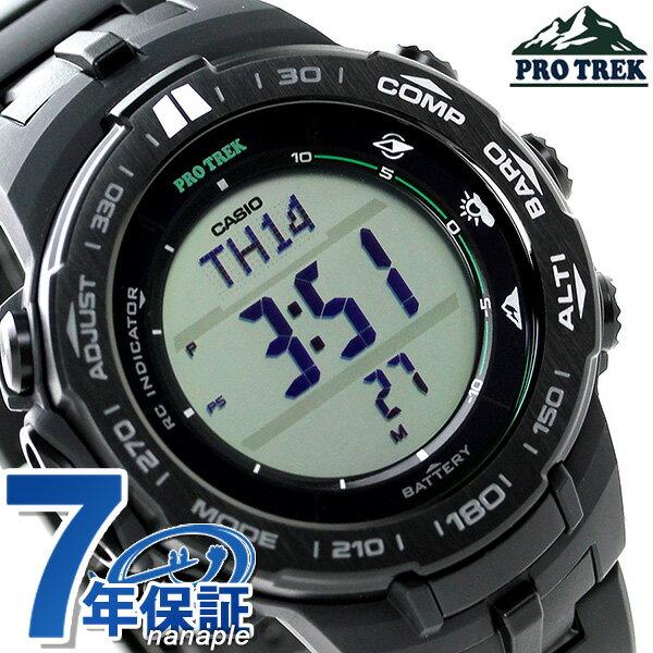 カシオ プロトレック スリムライン 電波ソーラー メンズ PRW-3100FC-1DR CASIO PRO TREK 腕時計 時計【あす楽対応】
