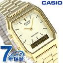 カシオ 腕時計 チープカシオ 海外モデル メンズ AQ-230GA-9DDF CASIO ゴールド チプカシ 時計