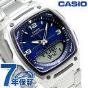カシオ チプカシ スタンダード 海外モデル メンズ 腕時計 AW-81D-2AVDF CASIO ブルー 時計【あす楽対応】