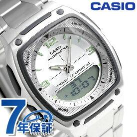 カシオ 腕時計 チープカシオ 海外モデル メンズ AW-81D-7AVCF CASIO シルバー チプカシ 時計【あす楽対応】