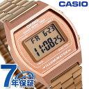 カシオ 腕時計 チープカシオ ストップウォッチ アラーム B640WC-5DF CASIO ピンクゴールド チプカシ