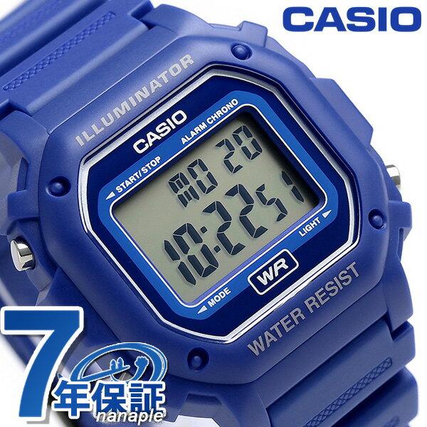 カシオ チプカシ 海外モデル スタンダード デジタル F-108WH-2ACF CASIO 腕時計 ブルー