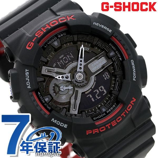 G-SHOCK CASIO GA-110HR-1ADR スペシャルカラー メンズ 腕時計 カシオ Gショック ブラック × レッド 時計【あす楽対応】