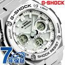 【エントリーだけでポイント3倍 27日9:59まで】 G-SHOCK ソーラー CASIO GST-S110D-7ADR Gスチール メンズ 腕時計 カ…
