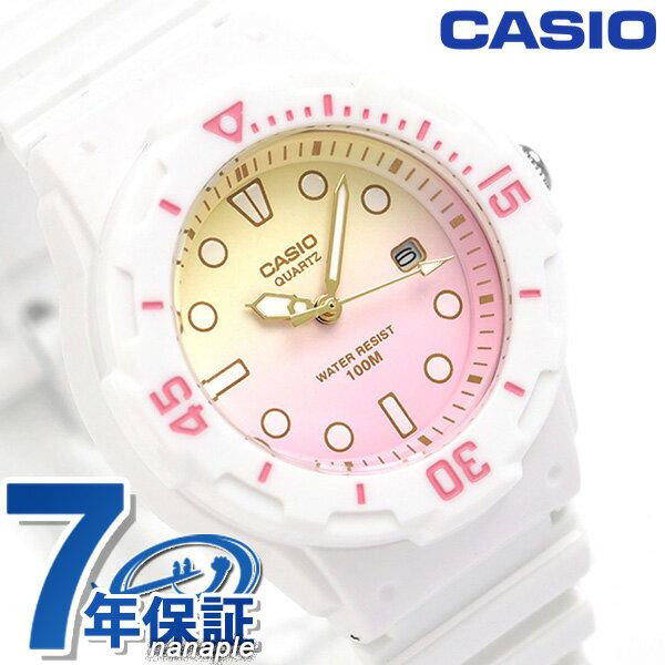 カシオ 腕時計 チープカシオ レディース LRW-200H-4E2VDF CASIO ピンクグラデーション チプカシ