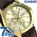 カシオ チプカシ マルチファンクション メンズ 腕時計 MTP-V301GL-9ADF CASIO ゴールド