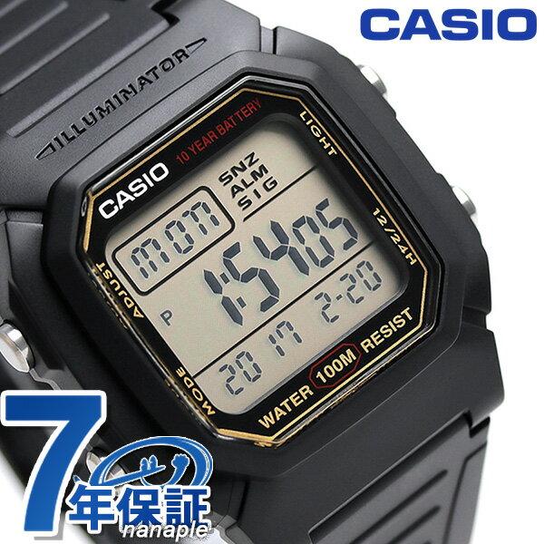 カシオ 腕時計 チープカシオ 海外モデル デジタル メンズ W-800HG-9AVDF CASIO チプカシ