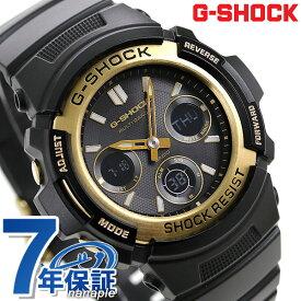 G-SHOCK ブラック & ゴールド シリーズ 電波ソーラー 腕時計 AWG-M100SBG-1A カシオ Gショック 時計【あす楽対応】