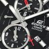 kashioedifisuwarudotaimu日本製造人手錶EFB-302JD-1ADR CASIO黑色
