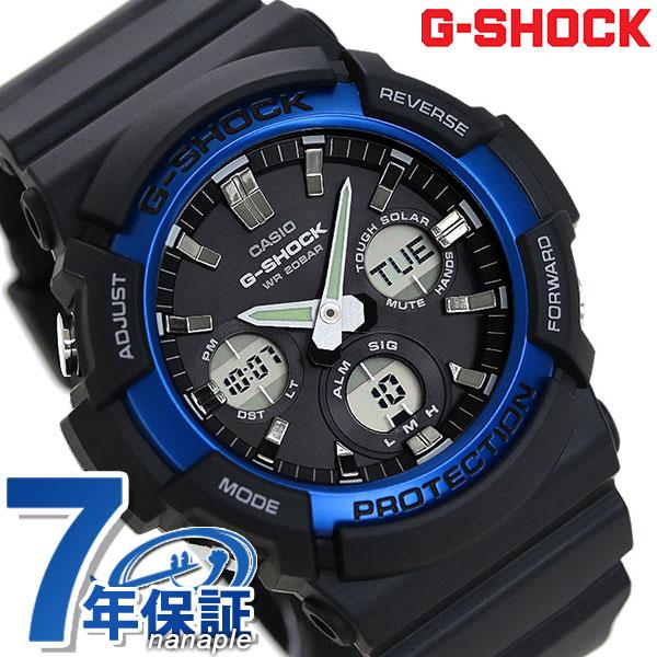 G-SHOCK 海外モデル アナデジ ソーラー メンズ 腕時計 GAS-100B-1A2DR カシオ Gショック 時計【あす楽対応】