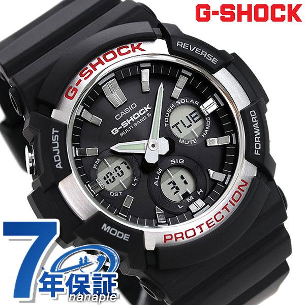 G-SHOCK ベーシック 電波ソーラー メンズ 腕時計 GAW-100-1AER カシオ Gショック ブラック 時計【あす楽対応】