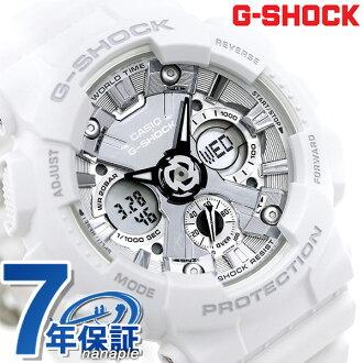 G-SHOCK S series men watch GMA-S120MF-7A1DR Casio G-Shock silver X white  clock